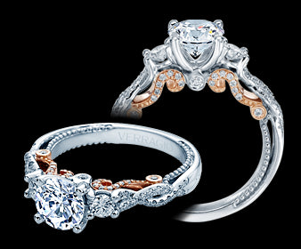 Verragio Insignia Round Diamond Engagement Ring (0.50 CTW)