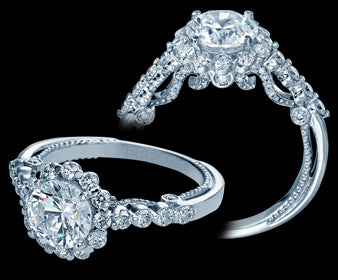 Verragio Insignia Round Diamond Engagement Ring (0.70 CTW)