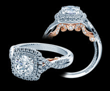 Load image into Gallery viewer, Verragio Insignia Round Diamond Engagement Ring (0.55 CTW)