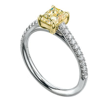 Load image into Gallery viewer, Forevermark Golden Diamonds Solitaire Engagement Ring