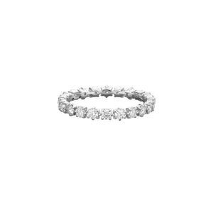 Jade Trau by Forevermark 6 Prong Eternity Band (1.20 CTW)