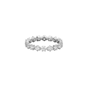 Jade Trau by Forevermark 6 Prong Eternity Band (1.8 CTW)