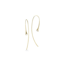 Load image into Gallery viewer, Jade Trau by Forevermark Duet Hoops (0.4 CTW)