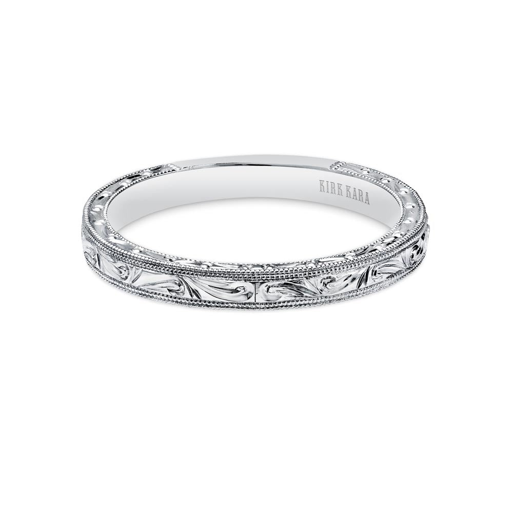 KirkKara Carmella  Diamond Wedding Band K1010-B