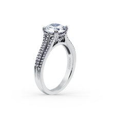 Load image into Gallery viewer, KirkKara Stella Round Diamond Diamond Engagement Ring (0.33 CTW)
