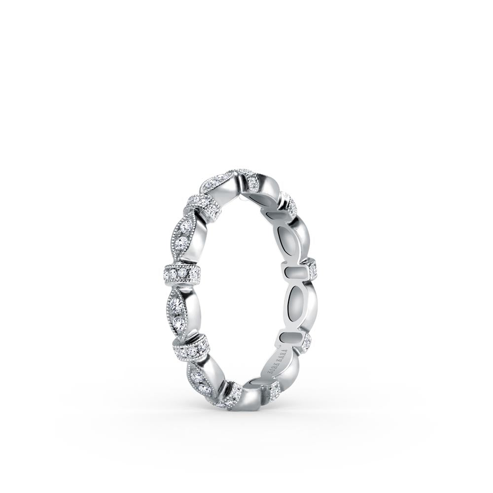 KirkKara Dahlia Diamond Wedding Band (0.25  CTW)