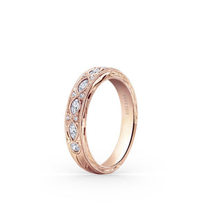 KirkKara Dahlia  Diamond Wedding Band K1120DP-B