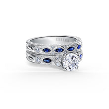 Load image into Gallery viewer, KirkKara Dahlia Round Diamond Diamond Engagement Ring