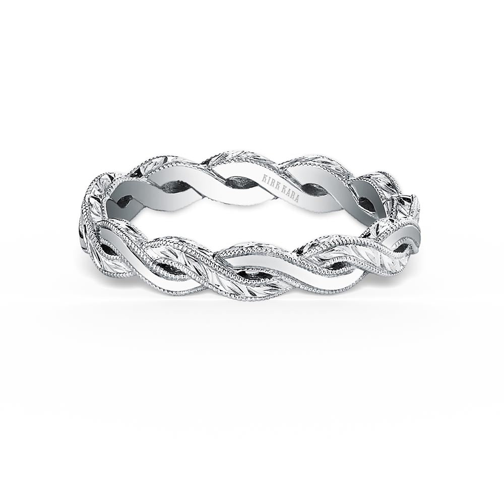 KirkKara Pirouetta  Diamond Wedding Band K1220-B