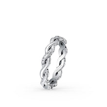Load image into Gallery viewer, KirkKara Pirouetta  Diamond Wedding Band K1220-B
