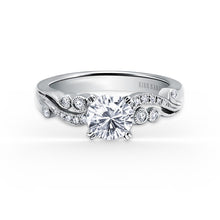 Load image into Gallery viewer, KirkKara Angelique Round Diamond Diamond Engagement Ring