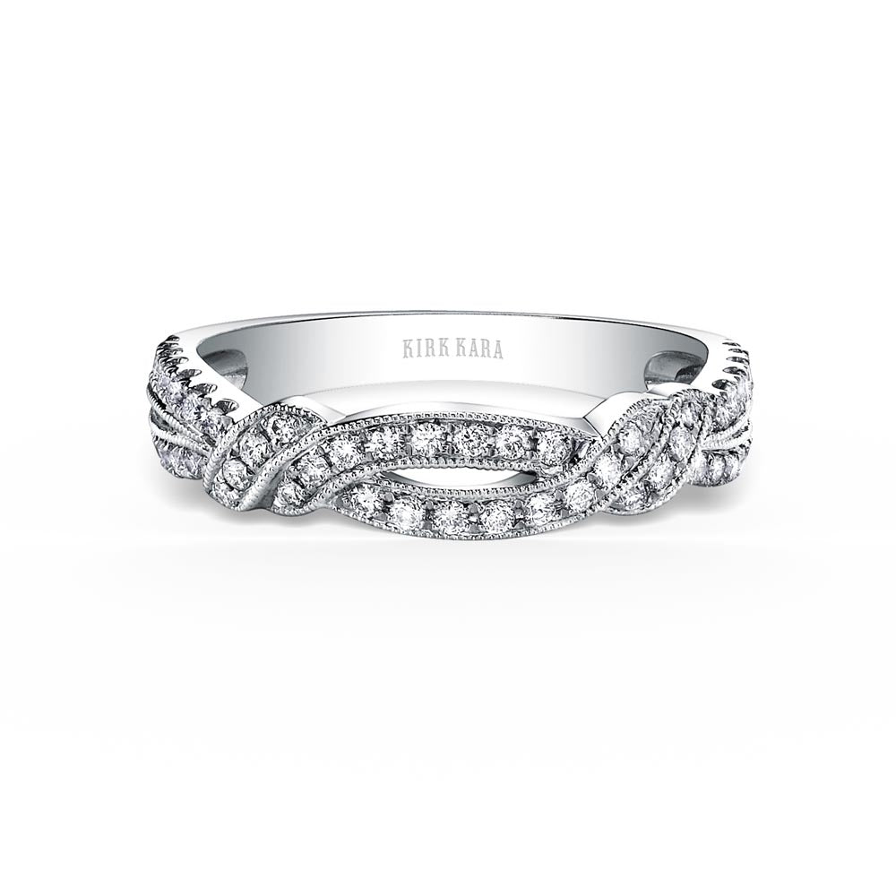 KirkKara Pirouetta  Diamond Wedding Band K1330D-B