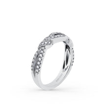 Load image into Gallery viewer, KirkKara Pirouetta  Diamond Wedding Band K1330D-B