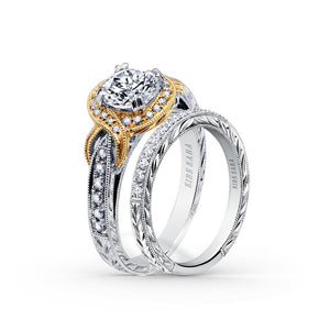 KirkKara Pirouetta Round Diamond Diamond Engagement Ring
