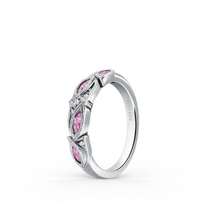 KirkKara Dahlia  Diamond Wedding Band K155PD-B