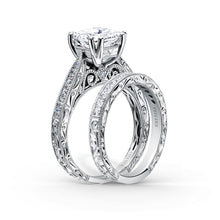 Load image into Gallery viewer, KirkKara Stella Princess Diamond Diamond Engagement Ring