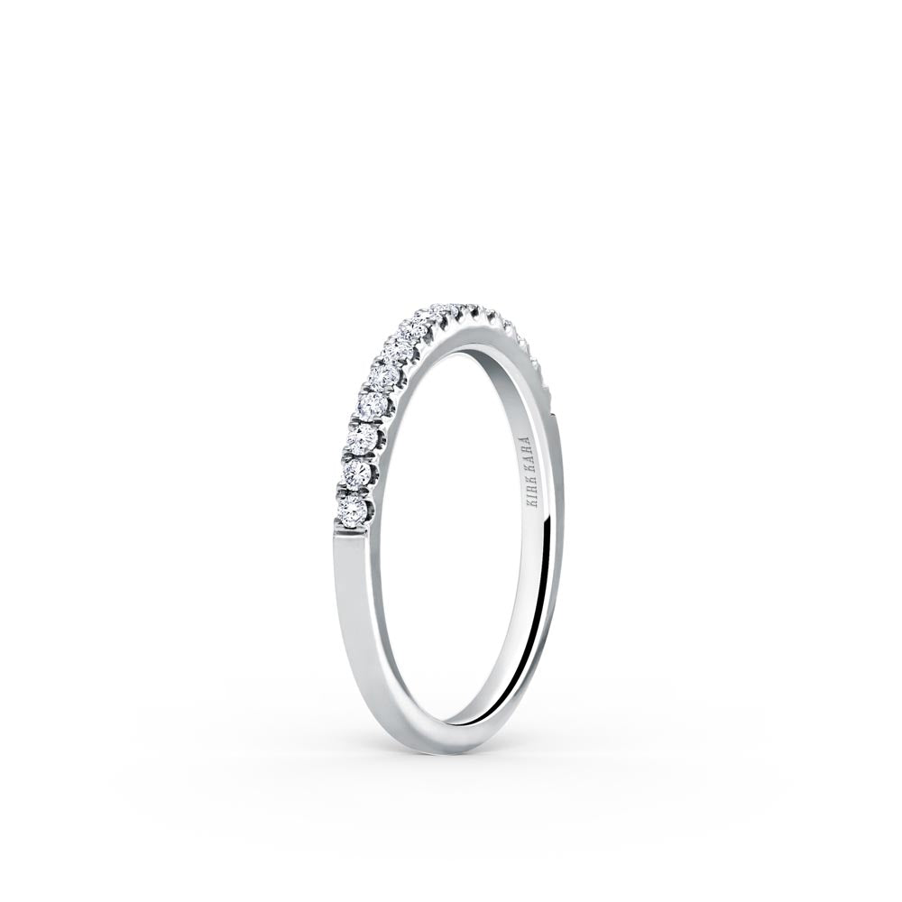 KirkKara Carmella  Diamond Wedding Band K184-B