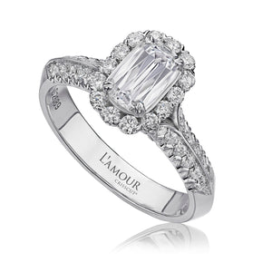 Christopher Designs L'Amour Engagement Ring (0.67 CTW)
