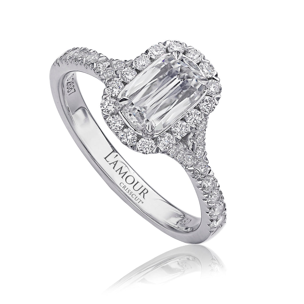 Christopher Designs L'Amour Engagement Ring (0.60 CTW)
