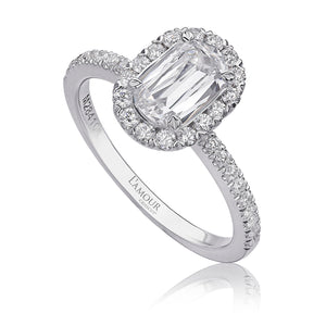 Christopher Designs L'Amour Engagement Ring (0.40 CTW)