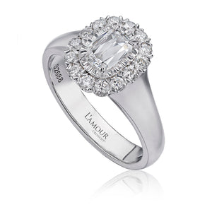 Christopher Designs L'Amour Engagement Ring (0.36 CTW)