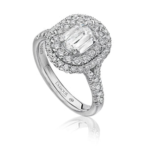 Christopher Designs L'Amour Engagement Ring (0.70 CTW)