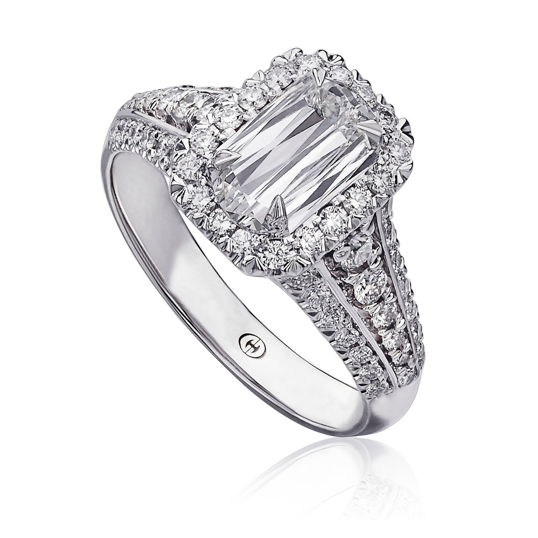 Christopher Designs L'Amour Engagement Ring (0.74 CTW)