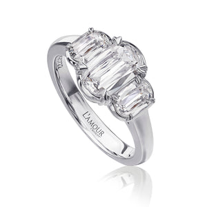 Christopher Designs L'Amour Engagement Ring (0.65 CTW)