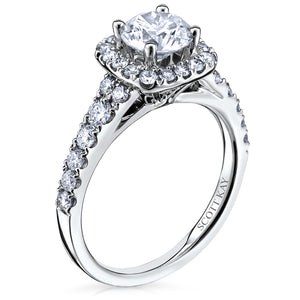 Scott Kay Luminaire Engagement Ring (0.46  CTW)