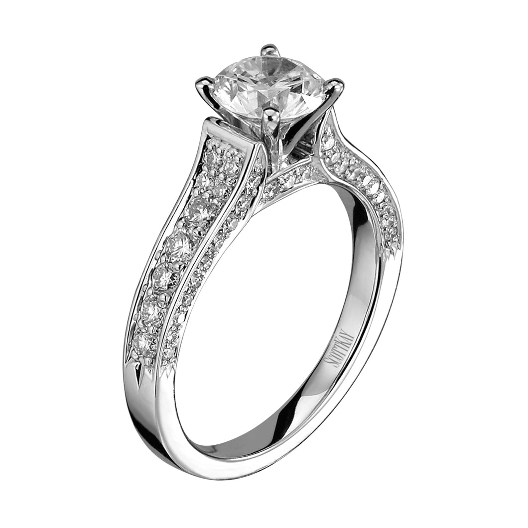 Scott Kay Luminaire Engagement Ring (0.64  CTW)