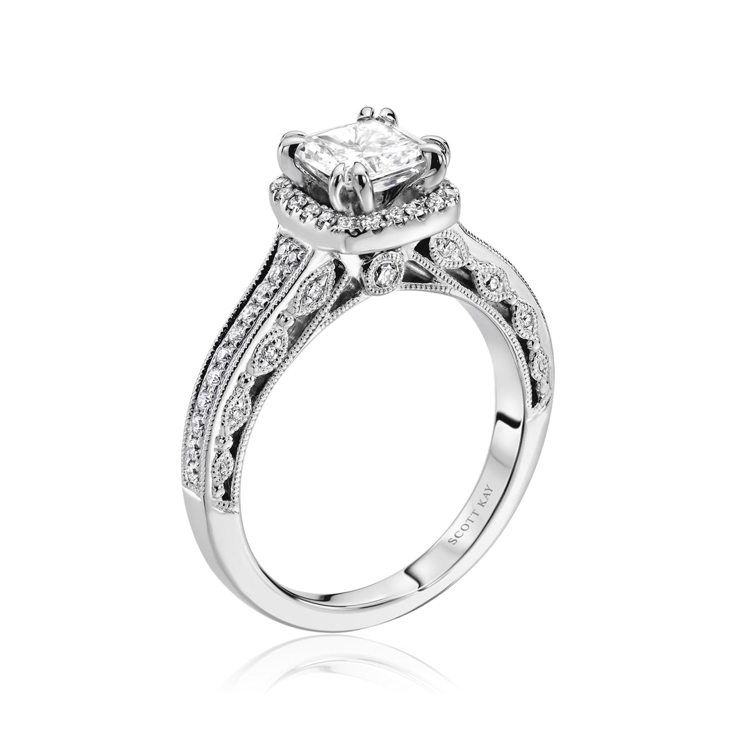 Scott Kay Luminaire Engagement Ring (0.28  CTW)