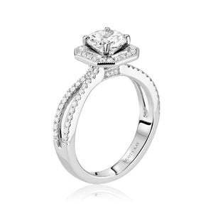 Scott Kay Luminaire Engagement Ring (0.37  CTW)