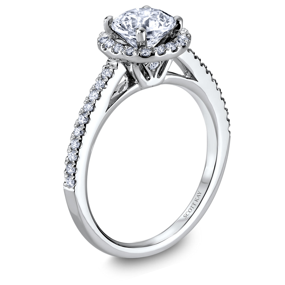 Scott Kay Luminaire Engagement Ring (0.22  CTW)