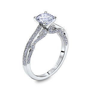 Scott Kay Luminaire Engagement Ring (0.31  CTW)