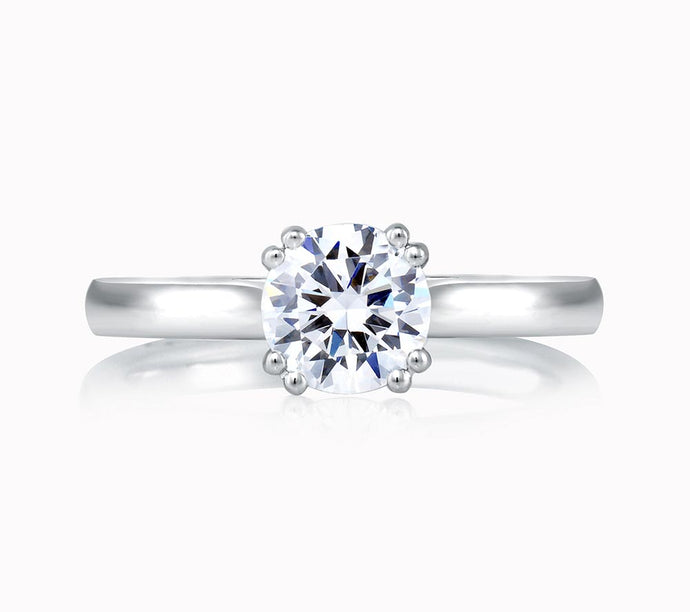 A.JAFFE Classics Round Diamond Diamond Engagement Ring