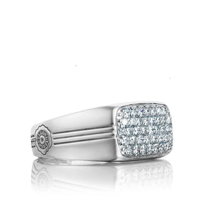 Tacori Legend Pavé Diamond East-West Ring MR103_10