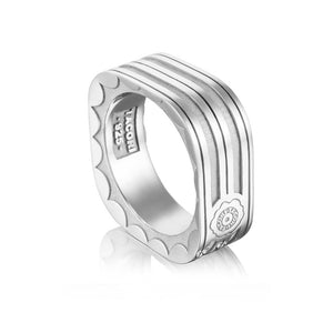 Tacori Monterey Roadster Square Racing Lines Ring MR109_10