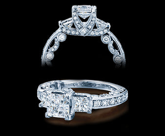 Verragio Paradiso Princess Diamond Engagement Ring (1.25 CTW)
