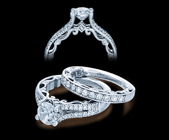 Verragio Paradiso Round Diamond Engagement Ring (0.40 CTW)