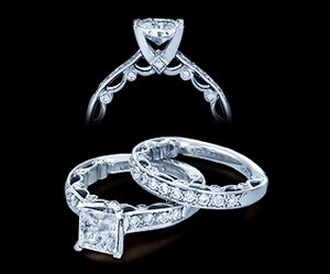 Verragio Paradiso Princess Diamond Engagement Ring (0.35 CTW)