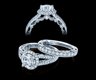 Verragio Paradiso Round Diamond Engagement Ring (0.50 CTW)