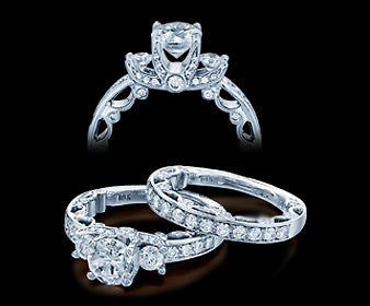 Verragio Paradiso Round Diamond Engagement Ring (0.75 CTW)