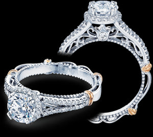 Verragio Parisian Round Diamond Engagement Ring (0.30 CTW)