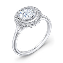 Load image into Gallery viewer, Jolie Designs Round Diamond Vintage Engagement Ring (0.10 CTW)