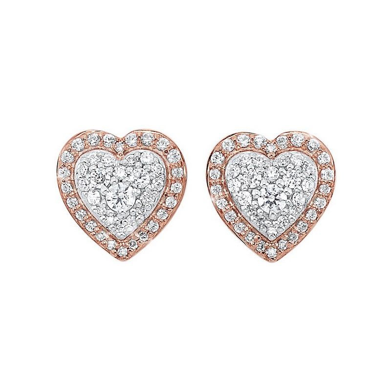 14K Rose Gold Earrings (0.25 ctw)