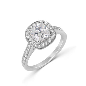 Fana Radiant Diamond Engagement Ring (0.38 CTW)