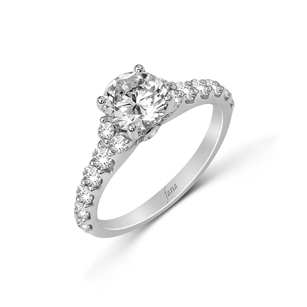 Fana Round Diamond Engagement Ring (0.69 CTW)