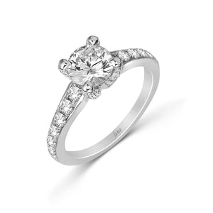 Fana Round Diamond Engagement Ring (0.60 CTW)