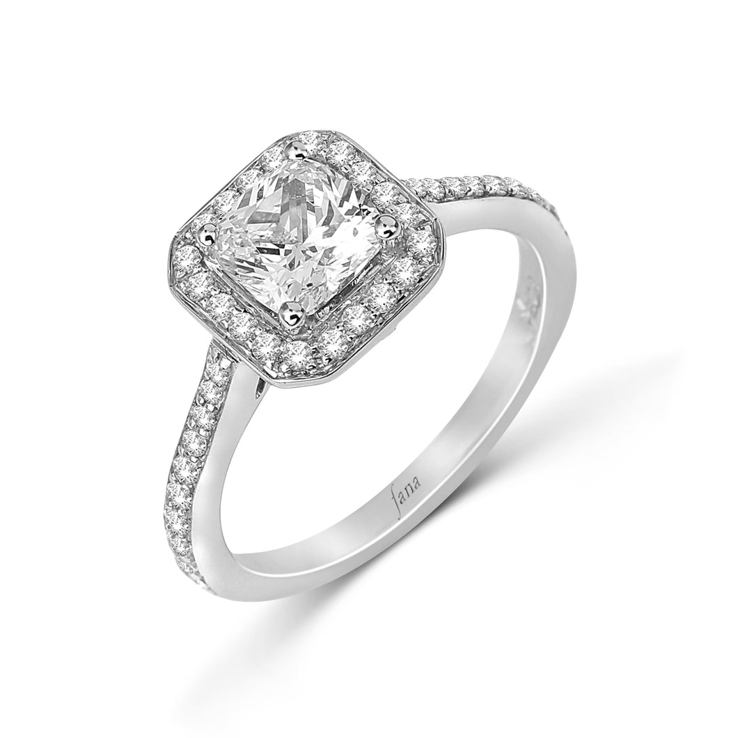 Fana Radiant Diamond Engagement Ring (0.46 CTW)