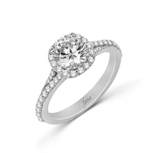 Load image into Gallery viewer, Fana Round Diamond Engagement Ring (0.53 CTW)